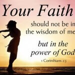 strong faith in God