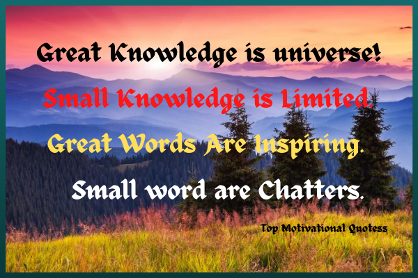 Knowledge is great quotes
