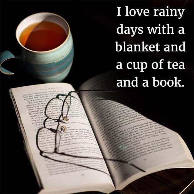 Rainy Day and Tea quotes