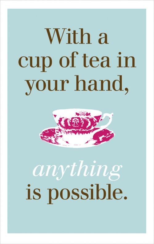 morning tea quotes