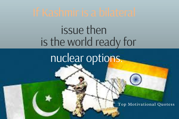 Kashmir day quotes