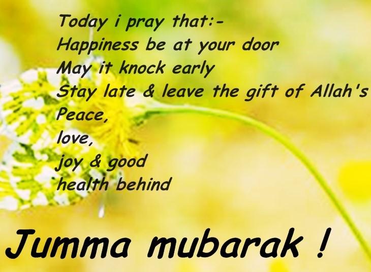 Jummah blessings