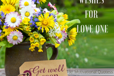 Wishes for recovery