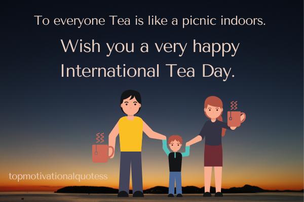 Tea day Quotes