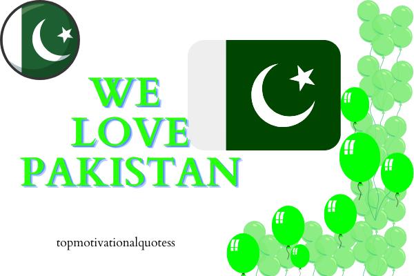 We Love Pakistan