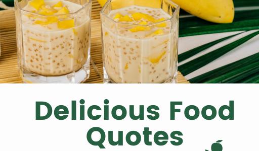 Delicious Food Quotes